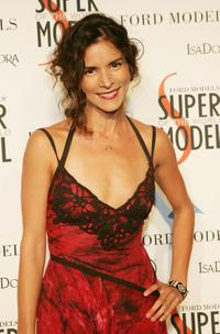 Patricia Velasquez at the Ford Model's Supermodel of the Year contest.