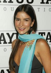 Patricia Velasquez at the 2nd Annual Wayuu Taya Foundation Benefit honoring Narciso Rodriguez.