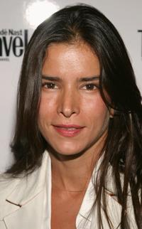 Patricia Velasquez at the Conde Nast Traveler hot list party.