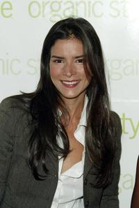 Patricia Velasquez at the luncheon for Organic Magazine honoring the 2004 Women with Organic Style.