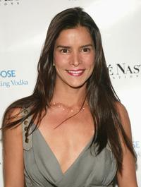 Patricia Velasquez at the Grey Goose Vodka/Conde Nast Tastemakers event.