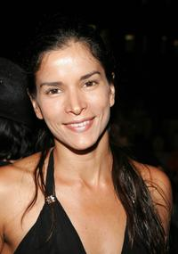 Patricia Velasquez at the Olympus Fashion Week.