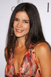 Patricia Velasquez at the party for Iman's new book