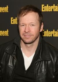 Donnie Wahlberg at the Entertainment Weekly's Oscar viewing party.