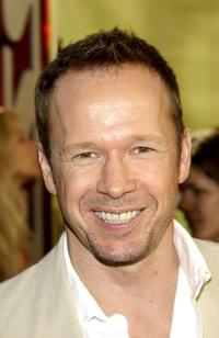 Donnie Wahlberg at the NBC All-Star Casino Night featuring the television network's new and returning stars.