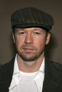 Donnie Wahlberg at the Midsummer Night's Dream Celebrity Poker evening.