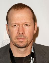 Donnie Wahlberg at the 6th Annual World Poker Tour Invitational Kick off.