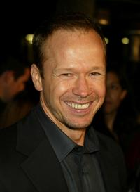 Donnie Wahlberg at the California premiere of