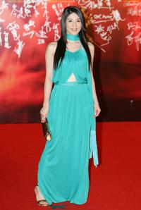 Charlie Young at the 27th Hong Kong Film Awards.