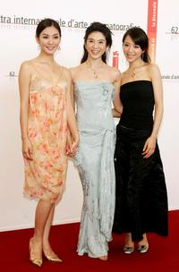 So-yeon Kim, Charlie Young and Jingchu Zhang at the press conference of