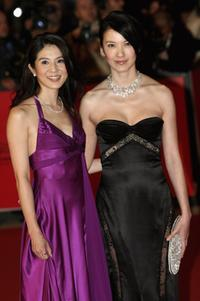 Charlie Young and Kelly Lin at the premiere of