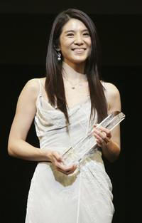 Charlie Young at the 19th Tokyo International Film Festival.