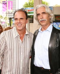 Steve Oederkerk and Sam Elliott at the premiere of