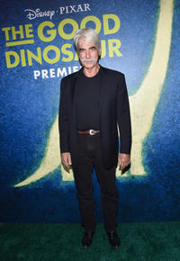 Sam Elliott at the world premiere of