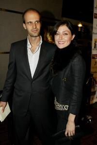 Edoardo Ponti and Sasha Alexander at the Hollywood Film Festival's closing night premiere of