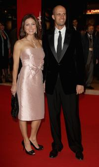 Sasha Alexander and Edoardo Ponti at the Opening Ceremony Concert/Tribute To Sophia Loren during the 2nd Rome Film Festival.