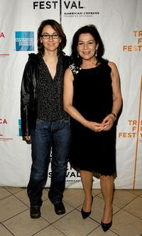 Angelina Maccarone and Hannelore Elsner at the premiere of