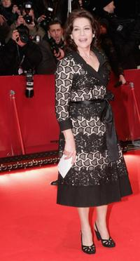 Hannelore Elsner at the Opening Night of the 56th Berlin International Film Festival.