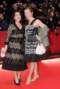 Hannelore Elsner and Nadja Uhl at the Opening Night of the 56th Berlin International Film Festival.