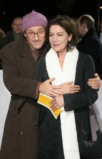 Dany Levy and Hannelore Elsner at the European Film Awards 2005.