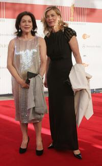 Hannelore Elsner and Barbara Rudnik at the German Film Awards.