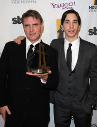 Robert Stromberg and Justin Long at the 14th Annual Hollywood Awards Gala.