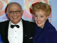 Gavin Macleod and Georgia Engel at the