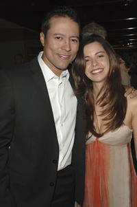 Yancey Arias and his wife Anna at the premiere of