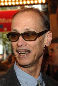 John Waters at the Broadway opening of