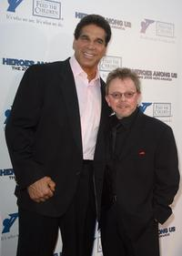 Lou Ferrigno and Paul Williams at the Hero Awards 2008.