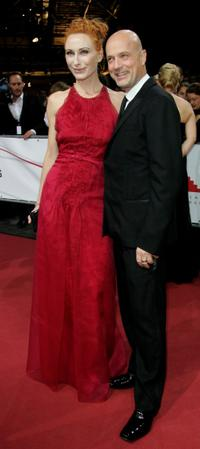 Andrea Sawatzki and Christian Berkel at the 20th European Film Awards.