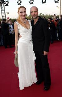 Andrea Sawatzki and Christian Berkel at the German Television Awards.