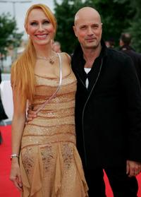 Andrea Sawatzki and Christian Berkel at the Deutscher Filmpreis Awards.