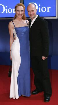 Christian Berkel and Andrea Sawatzki at the Bambi Awards 2004.
