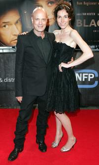 Christian Berkel and Halina Reijn at the premiere of