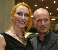 Christian Berkel and Andrea Sawatzki at the premiere of