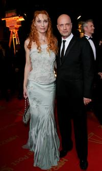 Andrea Sawatzki and Christian Berkel at the 42nd Goldene Kamera Award.