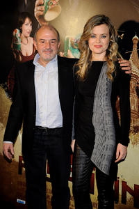 Jesus Bonilla and Carmen Arche at the photocall of