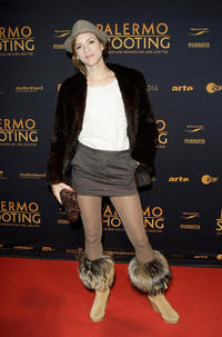 Inga Busch at the Germany premiere of