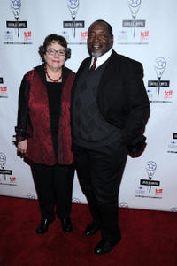 Chuck Cooper and Deborah Brevoort at the 28th Annual Lucille Lortel Awards in New York.