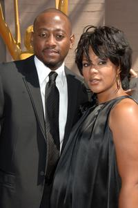 Omar Epps and wife Keisha at the 2007 Creative Arts Emmy Awards.