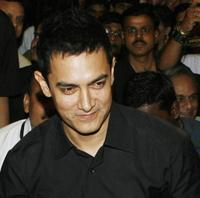 Aamir Khan at the book launch of