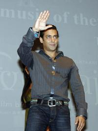 Salman Khan at the publicity event in Mumbai.