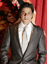 Actor Shah Rukh Khan at a London photocall for
