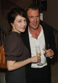 Carice van Houten and Sebastian Koch at the UFA 90th Birthday Gala.
