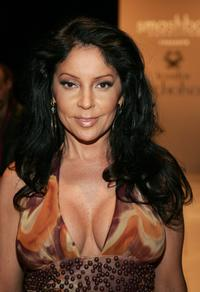 Apollonia Kotero at the Jennifer Nicholson Fall 2006 show during the Mercedes Benz Fashion Week.