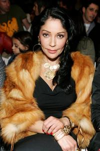 Apollonia Kotero at the Morphine Generation Fall 2006 show during the Mercedes-Benz Fashion Week.