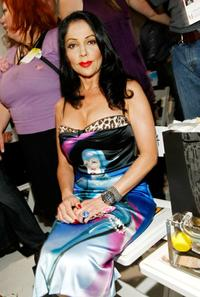 Apollonia Kotero at the Ashley Paige Fall 2008 fashion show during the Mercedes-Benz Fashion Week.