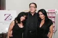 Steven Zale, Apollonia Kotero and Guest at the Seventeen Jewelry Collection launch party at Ketchup.