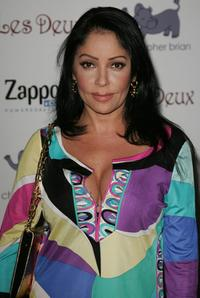 Apollonia Kotero at the Kim Kardashian's Birthday Party.